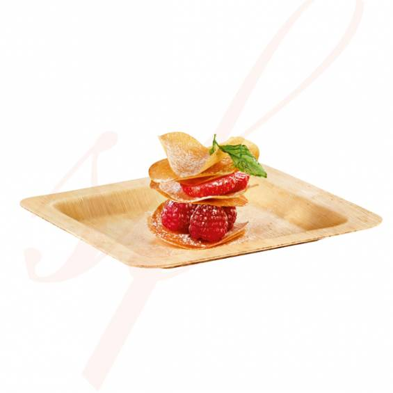 Bamboo Plate 4.7 in. - 200/cs - $0.39/pc