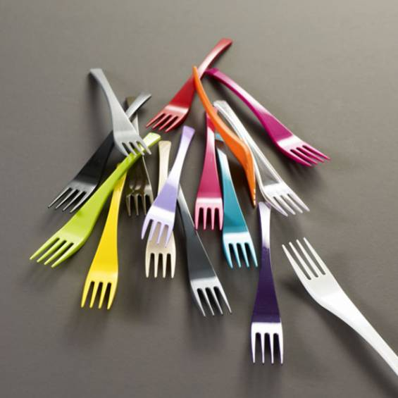 Purple Upscale Plastic Cutlery Set - 10/Box