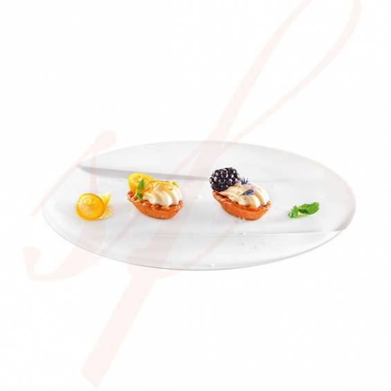 Emerald Premium White Plastic Plate 6 in. 100/cs