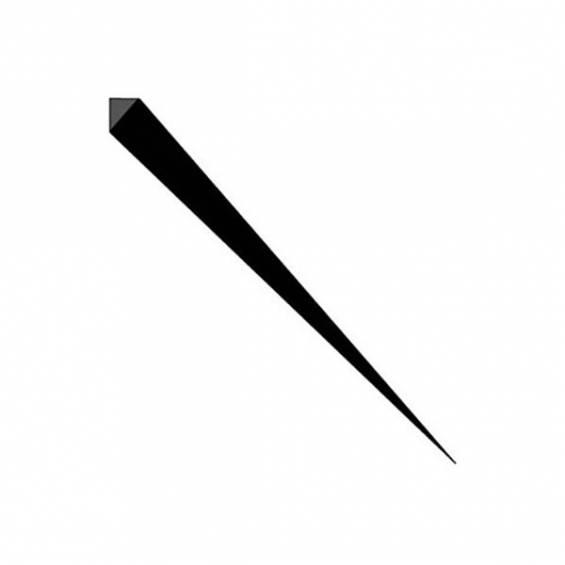 Prism Party Picks 3.5 in. Black - 100 pc/set