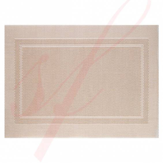 Gold Classic Woven Placemats - 12/cs