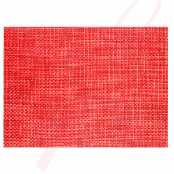 Plain Red Placemats - 12/cs