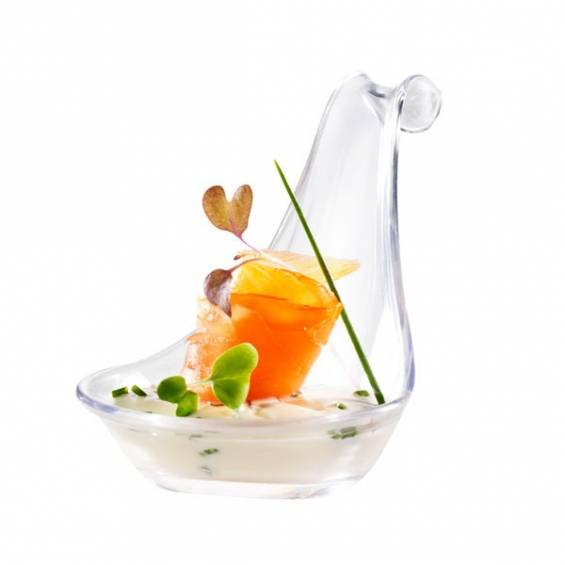 Gourmet Plastic Spoon Clear - 200/cs - $0.24/pc