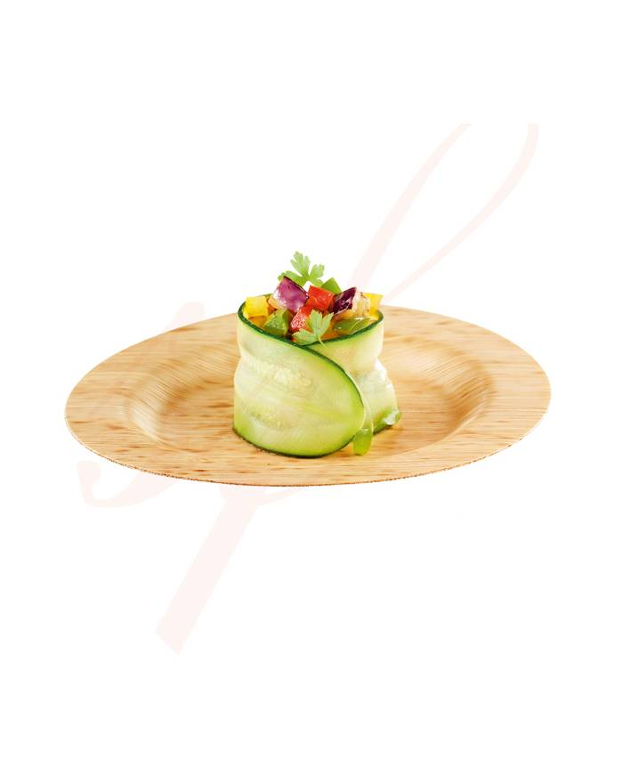 Round Bamboo Plate 3.5 in. 200/cs - $0.29/pc  sc 1 st  Sweet Flavor & Small Bamboo Plates 3.5   Sweet Flavor