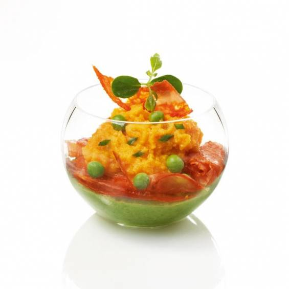 Sphere Mini Plastic Bowl 1.5 oz. 200/cs - $0.42/pc