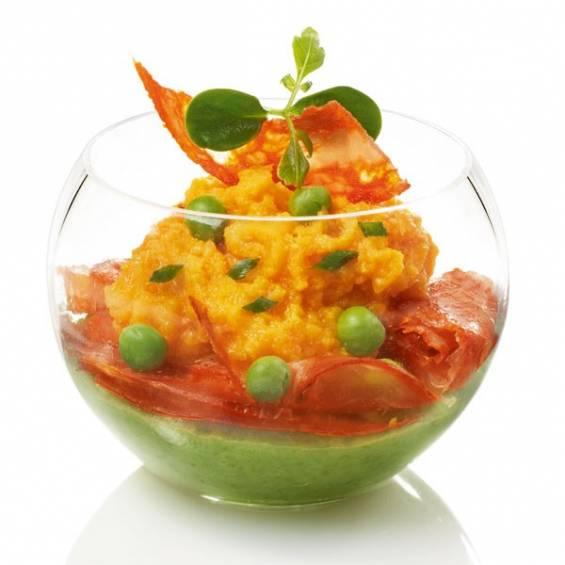 Sphere Plastic Salad Bowl 17 oz. - 72/cs - $1.13/pc