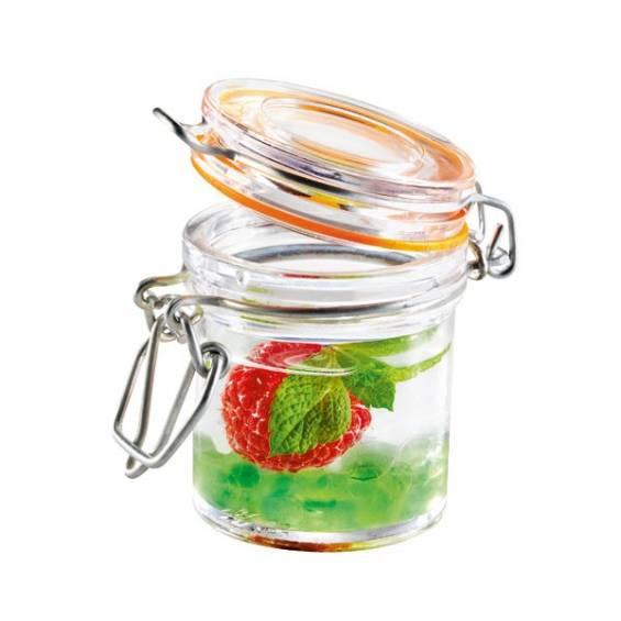Mini Plastic Jar 1.5 oz. 24/cs - $1.33/pc