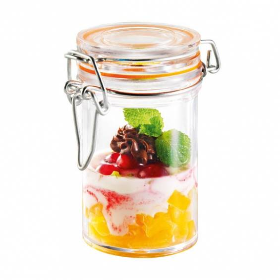 Mini Plastic Jar 2.5 oz. 24/cs - $1.45/pc