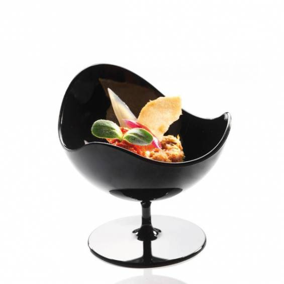 Plastic Mini Ball Chair - Black - 100/cs - $0.45/pc