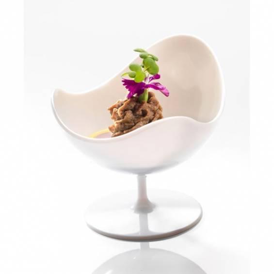 Plastic Mini Ball Chair - White - 100/cs - $0.45/pc
