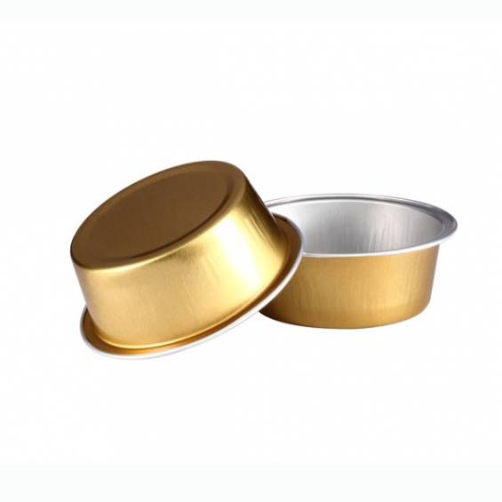 Aluminium Foil Mini Baking Cup 0.9 oz. 200/CS - $0.18/piece.