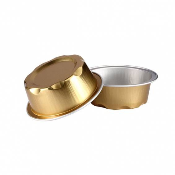 Aluminium Foil Mini Baking Cup 1.7 oz. 100/CS - $0.22/piece.