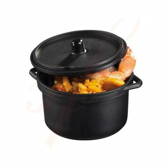 3 oz. Mini Plastic Cooking Pot - 30/set - $0.95/pc