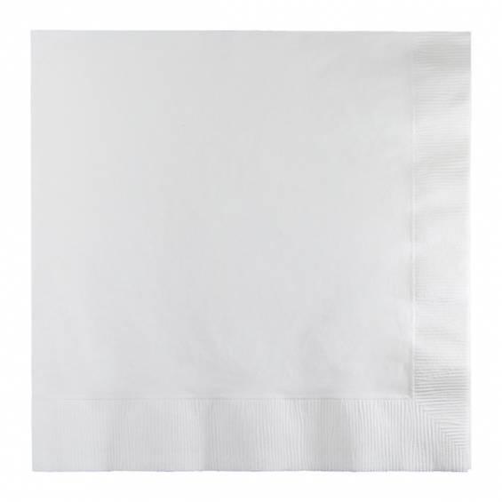 Silver Luncheon Paper Napkin - 50/cs