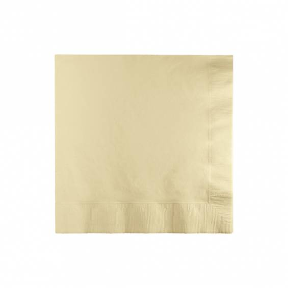 Red Beverage Paper Napkin - 50/cs