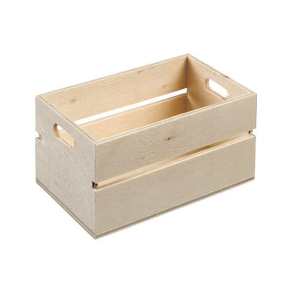Mini Biodegradable Wooden Crate