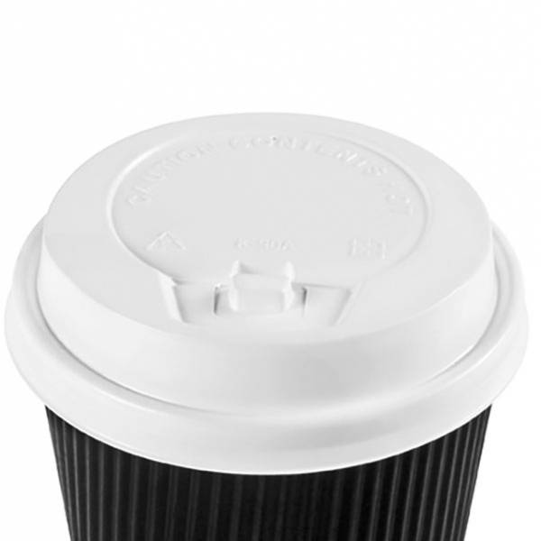 Lids For 8 Oz Ripple Wall Paper Coffee Cups