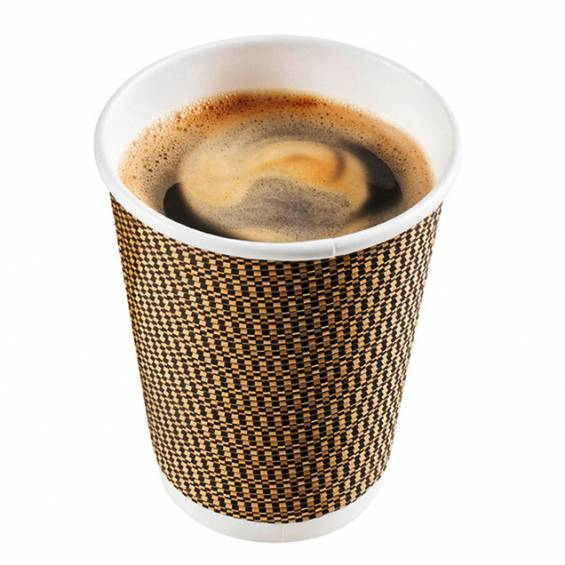 Insulated Disposable Paper Coffee Cups